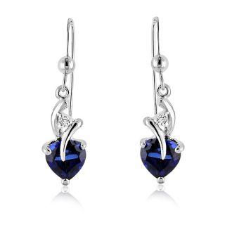 blue sapphire earrings in Fine Jewelry