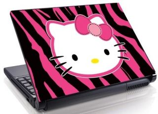 pink Zebra Laptop Skin Decal 15.4 17 19 Mini Netbook Macbook 51