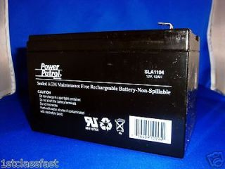 HOUR SEALED LEAD ACID AGM DEEP CYCLE RECHARGEABLE BATTERY 12V 12AH