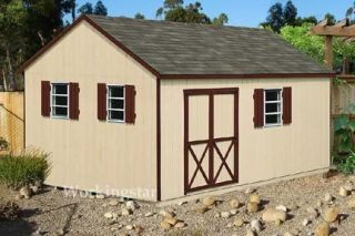 12x16 shed plans in Yard, Garden & Outdoor Living