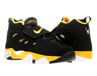 Nike Air Diamond Turf 2 (GS) Black/Gold Boys Cross Training Shoes