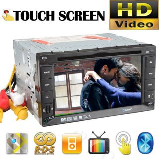 Car DVD Player Stereo IPOD /4 Radio USB/SD Double 2 Din