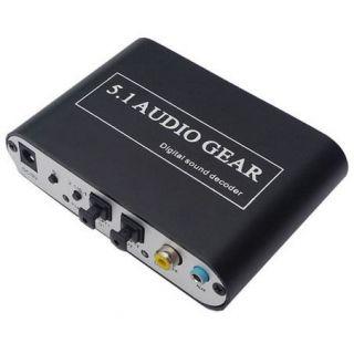 AC3 DTS HD Audio Gear Digital Sound Decoder Coaxial SPDIF PS3 DVD