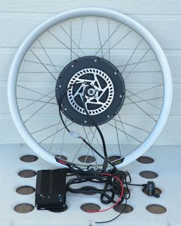 Electric Bike Conversion Kit   Front Hub Motor with 26 Rim and Speed