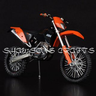 DIE CAST 1/12 KTM 450 EXC 09 MOTORCYCLE MODEL DIRT BIKE REPLICA