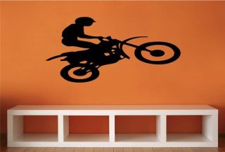 Motor Cross Dirt Stunt Bike Graphic Boys Teenager BedroomWall Art P37