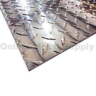 aluminum diamond plate 24x48 in Metals & Alloys