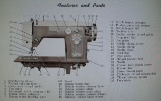deluxe zig zag sewing machine in Crafts