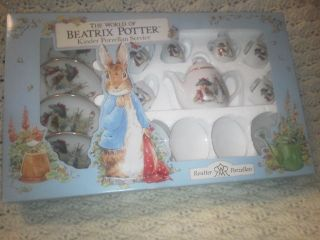Kinder Porcelain Service For 4 New Porcelain Peter Rabbit Dishes