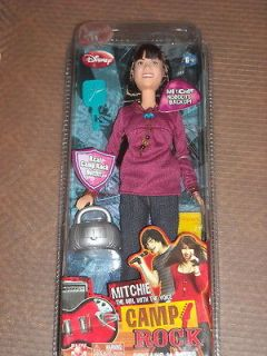 DISNEY CHANNEL CAMP ROCK MITCHIE DOLL NEW IN PACKAGE 2008 CONTAINS 14