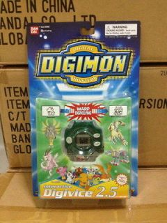 BANDAI DIGIMON MONSTERS DIGIVICE 2.5 PURPLE GAME NEW RARE