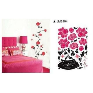 Wall Art Stickers in Flat Pack, DIY Adhesive Wall Graphics, Various