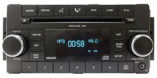 DODGE Chrysler JEEP Wranger UCONNECT Radio  CD Player Satellite