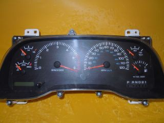 98 DODGE 1500 2500 3500 SPEEDOMETER INSTRUMENT CLUSTER DASH PANEL
