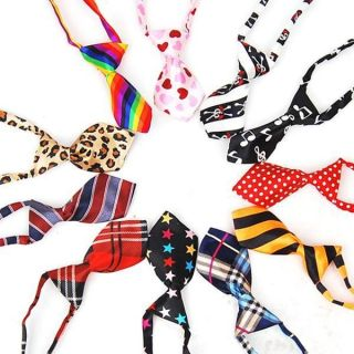 Pet Dog Cat Handsome Necktie Collar Bow Tie Clothes 16 Pattern #A1276