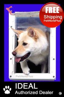 IDEAL *Ruff Weather* Pet Dog Door **2 Flap**    X LARGE