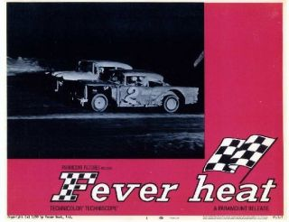FEVER HEAT,68 DIRT TRACK/STOCK CAR RACING ACTION