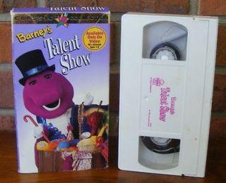 Barney   Barneys Talent Show (VHS, 1996)   40 + Minutes