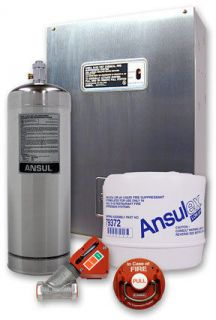 ansul systems in Hood Systems, Fire Suppression