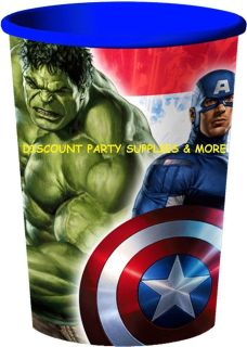 The Avengers Marvel Heroes Keepsake Stadium Souvenir Cup Favor