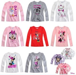 Minnie Mouse Disney jumper sweater pullover ls shirt, new, size 2 3 4