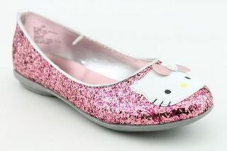 NIB Hello Kitty Toddler/Little Girl Julia Sequined Pink Ballet Flat