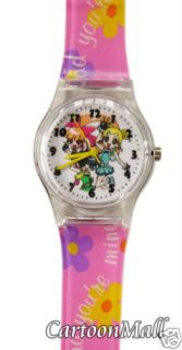 New Cartoon Network Powerpuff Girls Z   wrist watch