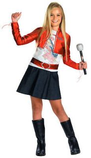 Hannah Montana Miley Cyrus Pop Star Child Costume 6991