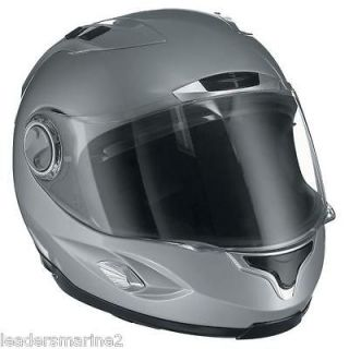 Scorpion EXO 1000 New Motorcycle Helmet Silver Medium Med M Fiberglass