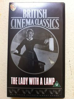 LADY WITH A LAMP  1951 Florence Nightingale Drama  Rare UK VHS