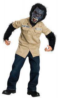 Horrorland Jungle Safari Animal Black Dress Up Halloween Child Costume
