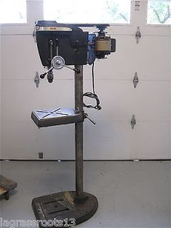 VINTAGE CRAFTSMAN 150 FLOOR MODEL DRILL PRESS ONE OWNER WITH MANUAL