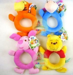 toys Animal model Hand bell Kid Plush toys pooh,tigger,donkey,pig,gift