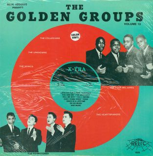 GROUPS Vol 13 Best of X TRA RECORDS LP NEW SEALED COLOR VINYL DOO WOP
