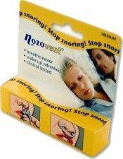 Nozovent Nasal Dilator Large Size Reduces Dry Mouth