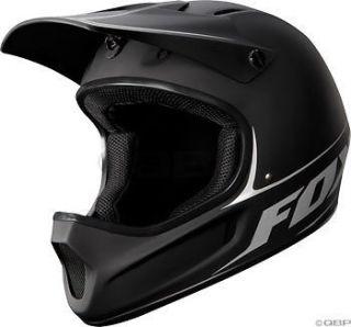 Fox Racing Rampage Downhill Bike Helmet Matte Black Small