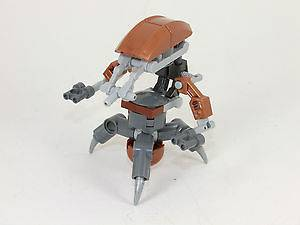 Lego Star Wars Droideka Destroyer Droid 7662 **Copper Parts** **New**