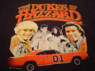 DUKES OF HAZZARD T Shirt Size M/Boss Hogg/Daisy Duke/General Lee/TV