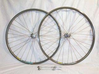 Open Pro Bicycle Bike Cycling Shimano Dura Ace 7800 Wheel Set Grey CD