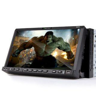 D2216 Eonon 7 HD LCD TV In Dash Car 2Din iPod iPhone FM Stereo DVD