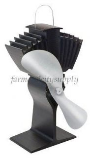 LIMITED 812AM KBX ECOFAN AIRMAX HEAT POWERED WOOD STOVE FAN NEW