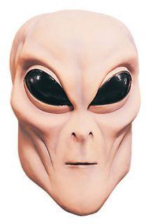 ALIEN UFO Extra Terrestrial ET Latex Full Mask Costume Prop Flesh