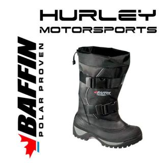 BAFFIN WOLF Mens Snowmobile Boot  Black  Size 7, 8, 9, 10, 11, 12