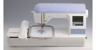 New Brother PE 770 Embroidery Machine USB + Digitize N Stitch Software