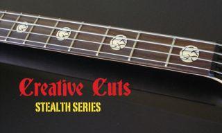 Blink 182 Mark Hoppus Custom Vinyl Decal Bass Inlays