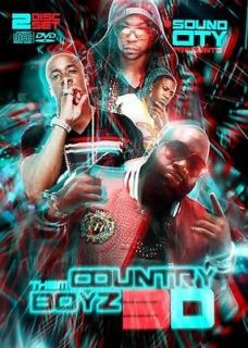 Wayne Rick Ross Yo Gotti Jeezy Videos Rap DVD + CD   Country Boys 3