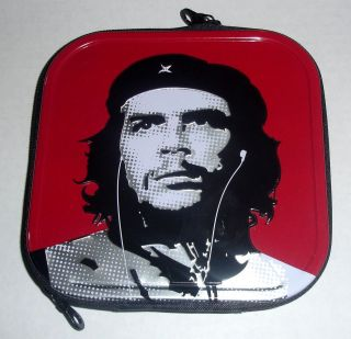 Rare Che Guevara Metal Red CD Case DVD 24 Ct. Holder Storage