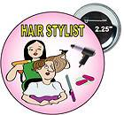 Button   Beauty Style Salon BLow Dryer Model Project Runway Star