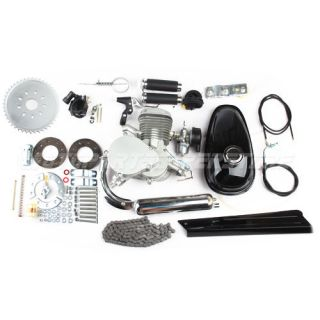 New 80cc 2 Stroke Engine Motor Kit for Motorized Bicycle Bike 40+MPH!