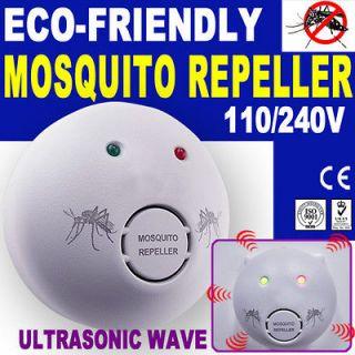 Mosquito Repeller Repellent Pest Control Electronic Killer 110V/240V